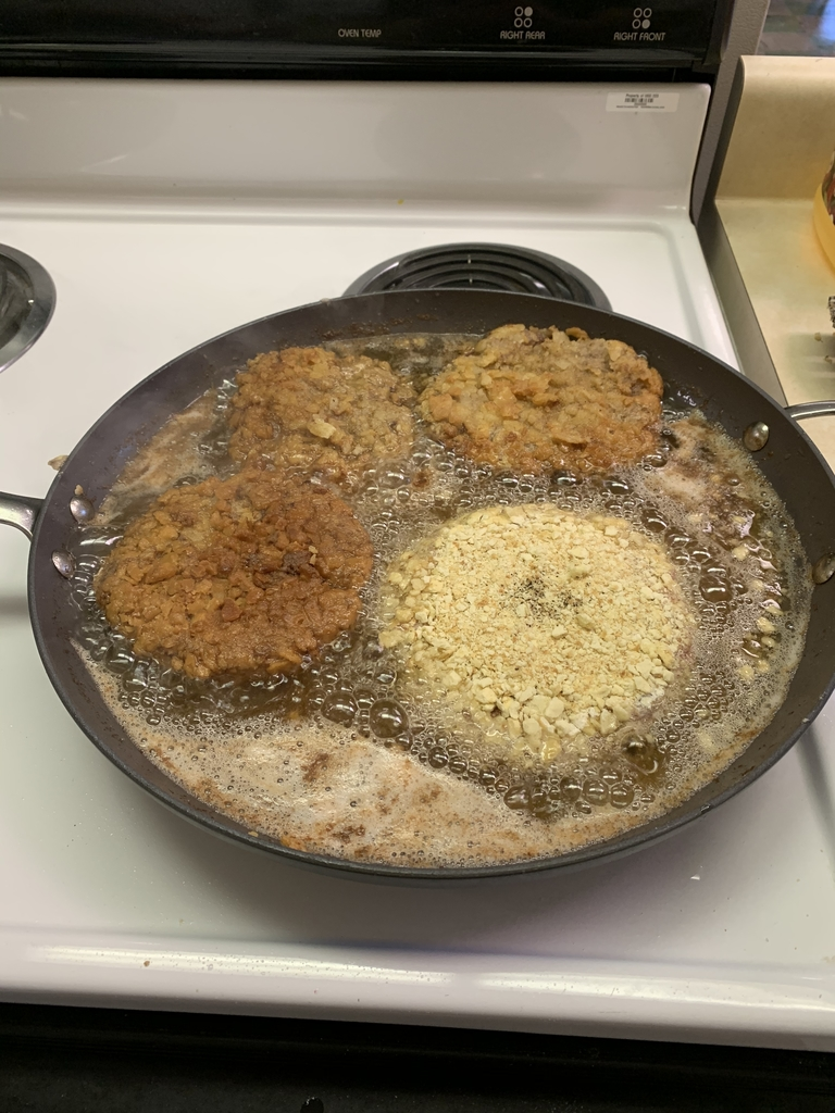 Chicken Fried Hamburgers