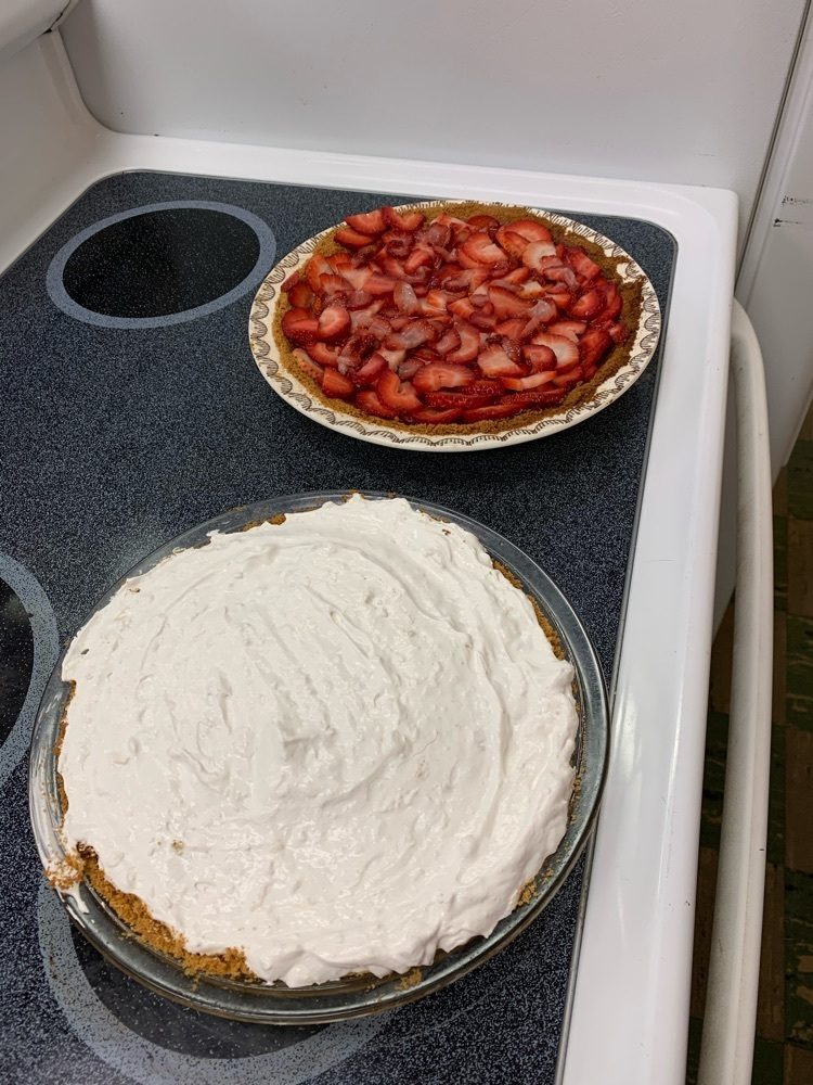 homemade pie
