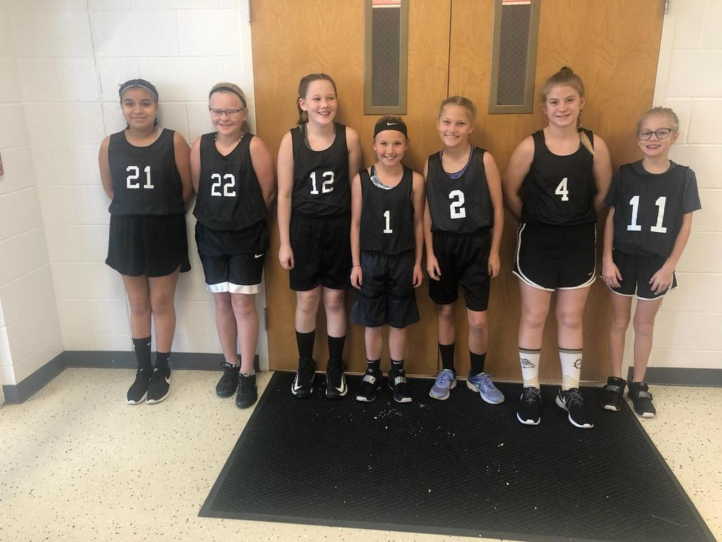 5th Grade Girls BB Team
