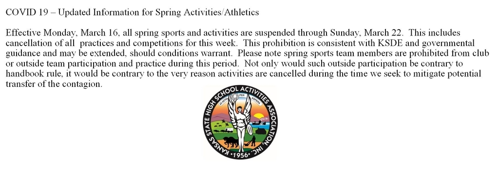 Spring Sport announcement