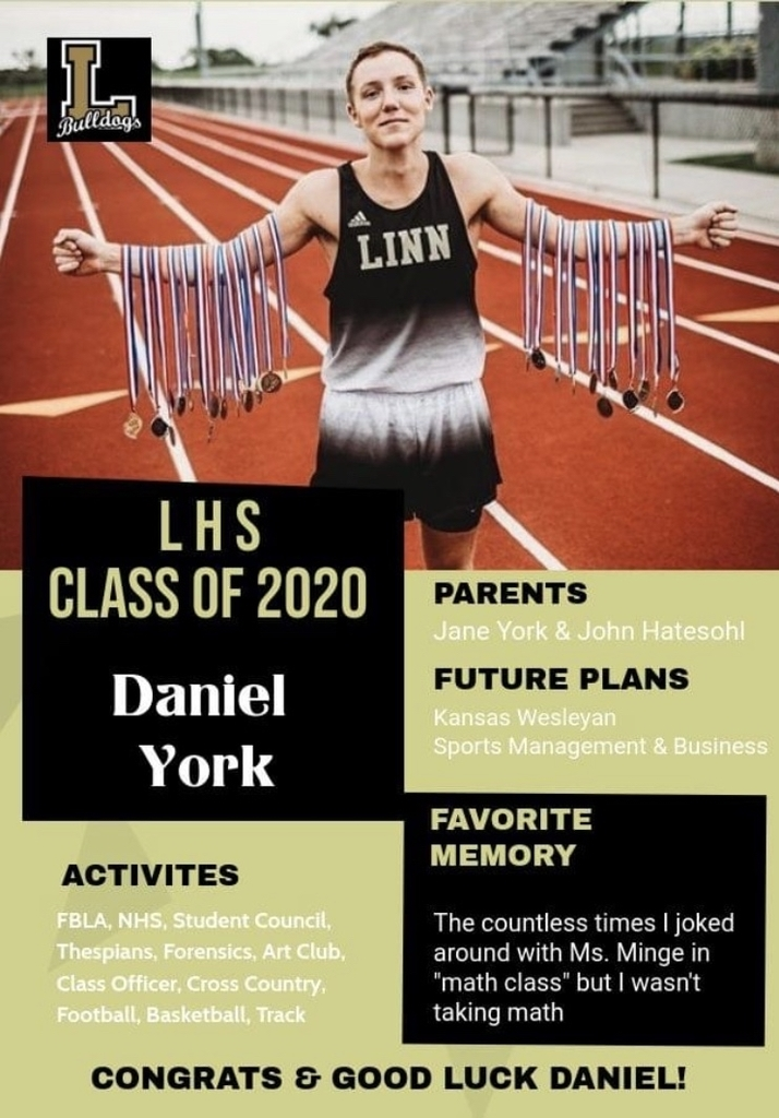 Senior Spotlight - Daniel York