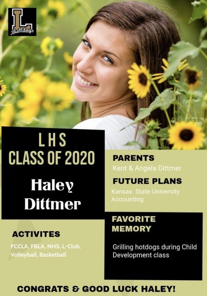 Senior Spotlight - Haley Dittmer