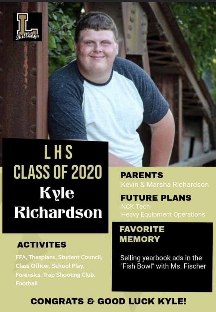 Senior Spotlight - Kyle Richardson