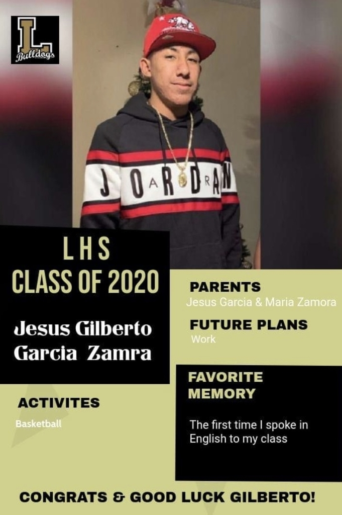 Senior Spotlight - Gilberto Garcia
