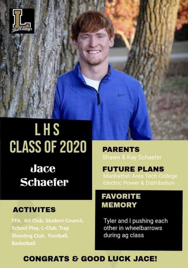 Senior Spotlight - Jace Schaefer