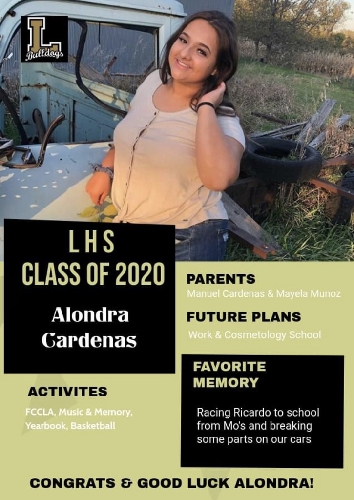 Senior Spotlight - Alondra Cardenas